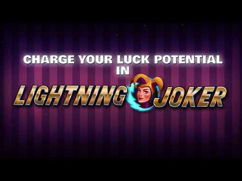 Lightning Joker Gameplay video