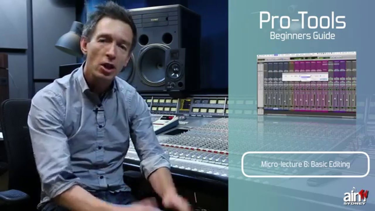 Free tutorial pro tools for beginners mixing | pro tools.