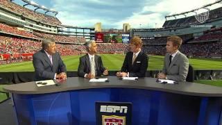 Sunil Gulati Discusses FIFA and CONCACAF on ESPN Halftime Show at Gillette Stadium