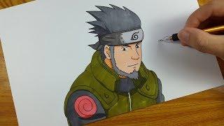 Drawing Asuma Sarutobi | Naruto