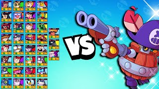 Darryl 1v1 vs EVERY Brawler | The NEW king?