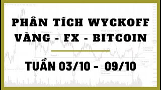 ✅ Phân Tích VÀNG-FOREX-BITCOIN Tuần 03-09/10 Theo Phương Pháp WYCKOFF | TraderViet