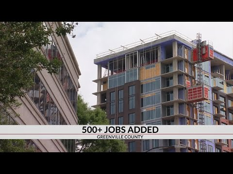 New Jobs Coming To Greenville
