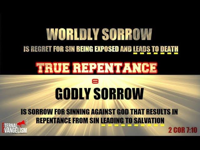 True Biblical Repentance