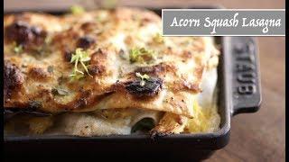 Vegan Acorn Squash Lasagna