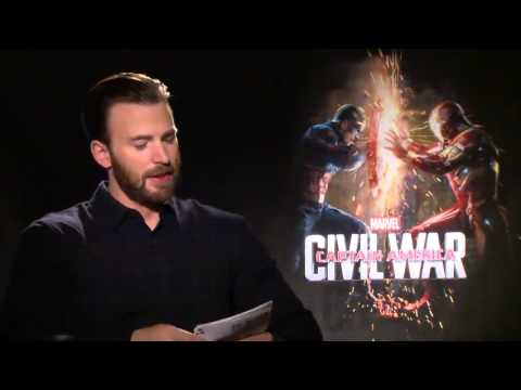 Chris Evans geeks out about Disney stuff