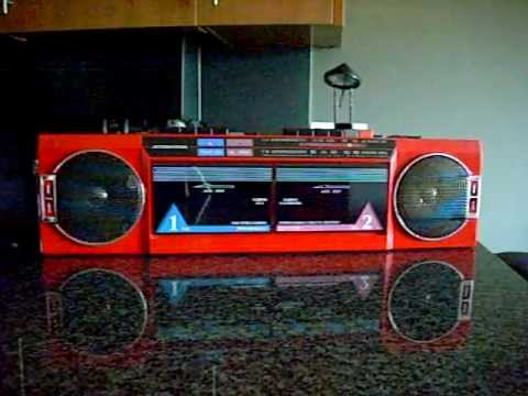 international ak 21 radio cassette boombox youtube. Black Bedroom Furniture Sets. Home Design Ideas