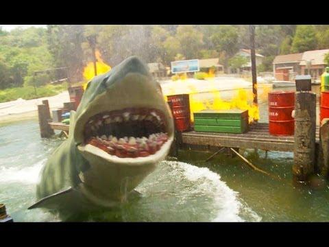 JAWS!  Full Ride (HD POV) Universal Studios