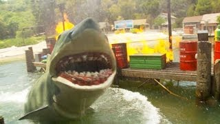 JAWS!  Full Ride (HD POV) Universal Studios