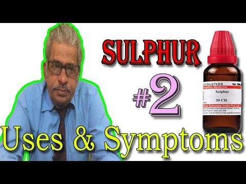Repeat Sulphur Homeopathic Medicine Uses👍👍👍 by Dr Aqeel