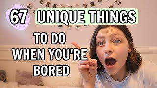 67 Actual FUN Things To Do When You're Bored | Bethany