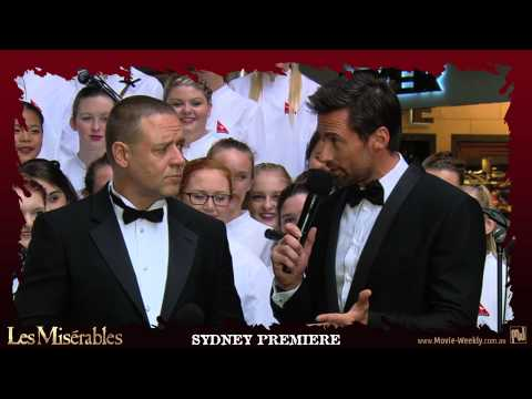 LES MISÉRABLES - Australian Premiere & Behind-the-Scenes