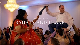 WHOLE HEART STUDIOS WEDDING FILM | SAHAJA AND BLAKE | SPRINGFIELD VIRGINIA