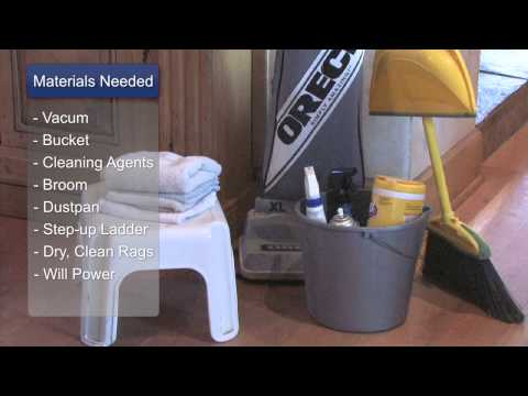Tips on How to Clean Houses