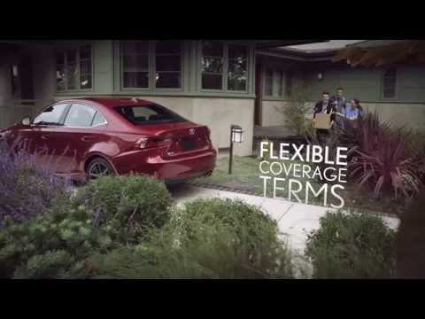 Vehicle Service Agreement from Performance Lexus
