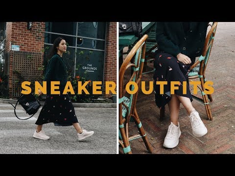 5 Different Outfits to Wear with Sneakers