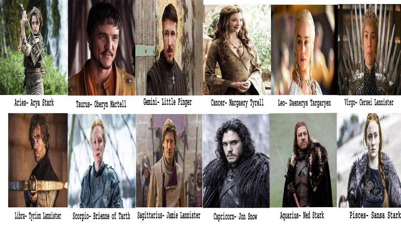What Game of Thrones Character You Are, Based on Your Zodiac Sign