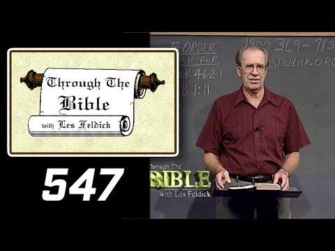 [ 547 ] Les Feldick [ Book 46 - Lesson 2 - Part 3 ] Hebrews 1:10-2:4 |a