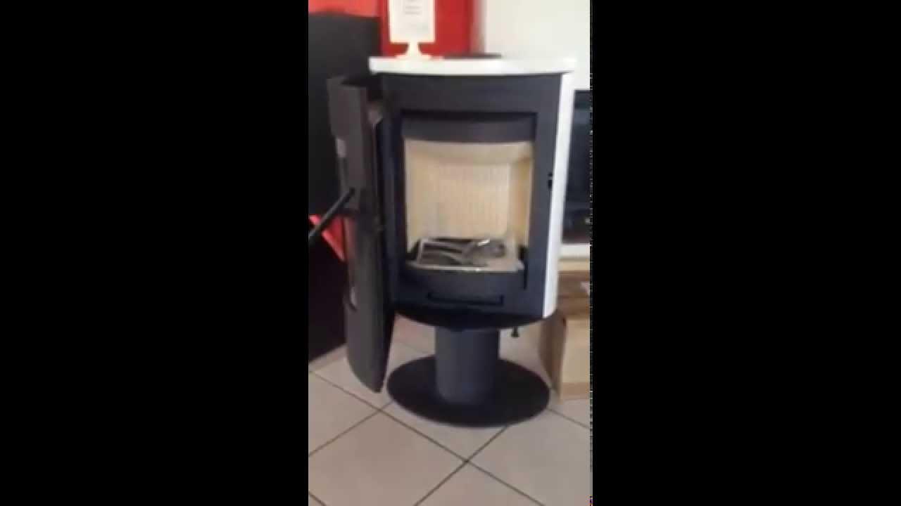 Poêle à bois ROMOTOP Evora  YouTube
