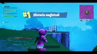Victory with the NEW SKIN *LOVE Bear* FORTNITE ? Cry
