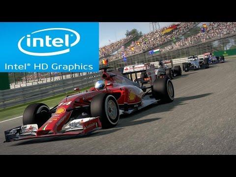 F1 2014 on Intel HD Graphics 2500