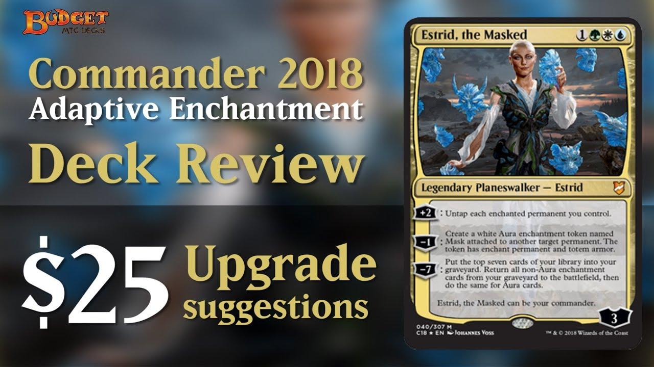 Commandant 2018 Deck Adaptive Enchantment