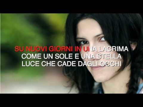 Elisa - Luce - Karaoke con testo