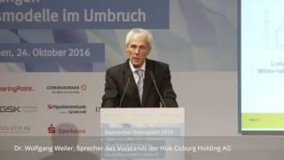 """Huk-Coburg CEO Weiler: """"Müssen viel, viel mehr leisten""""!"""