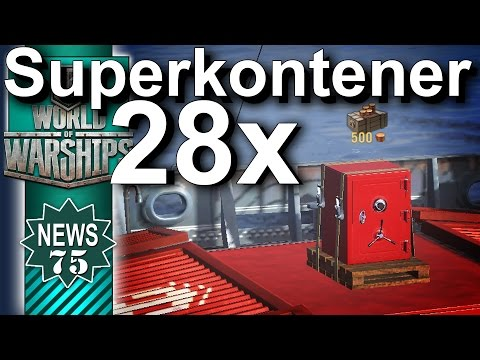 28 x Superkontener - NEWS - World of Warships