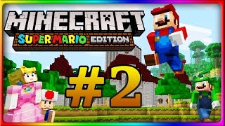 Let's Show MINECRAFT WII U EDITION | Mario Mashup Pack | Mario-Welt Part 2