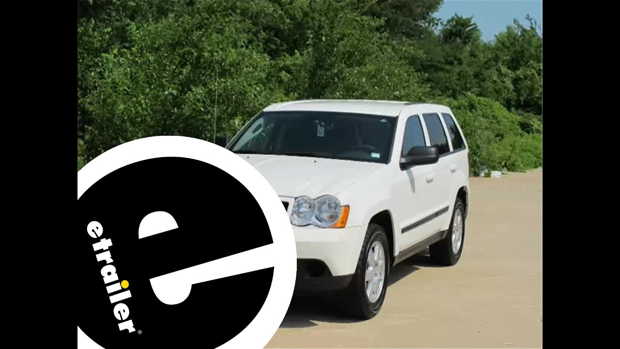 hight resolution of trailer wiring harness installation 2008 jeep grand cherokee etrailer com