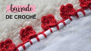 Barrado De Crochê Carreira Unica