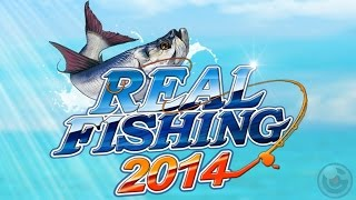 Real Fishing 2014 - Симулятор рыбалки на Android ( Review).