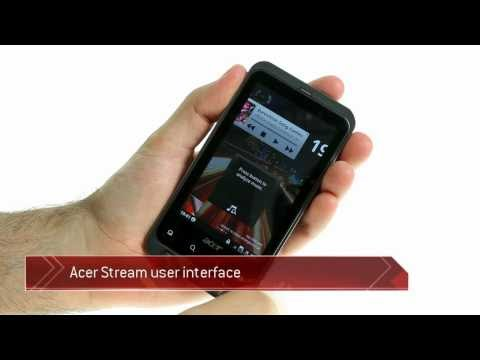 Acer Stream UI video demonstration