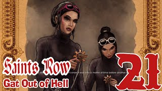 Saints Row:Gat out of Hell-21 (Finally I got KiKi and Viola, ah no, I mean the land)