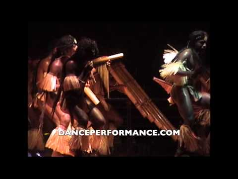 Festival of Pacific Arts at Palau - Solomon Islands Bamboo Dance 9