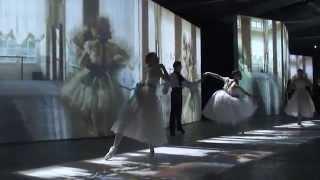 Танцы на выставке ВЕЛИКИЕ ИМПРЕССИОНИСТЫ