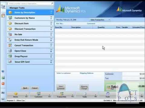 act pos microsoft dynamics point of sale 2009 from act pos chapter