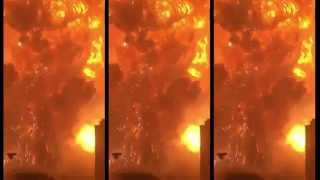 On 12 August 2015, at least two explosions within 30 seconds of eac...