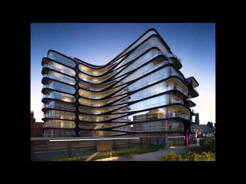 Most famous modern architectural buildings around the for Modern and postmodern design of building