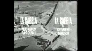 La Rabbia (1963), Pasolini, Guareschi - Trailer