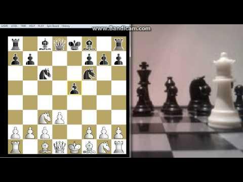 Podsećanje na Legalov šahovski mat - NN vs GESHEV - Aljehinova odbrana (B02) # 283