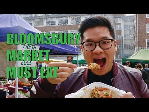 Things To Eat At London's Bloomsbury Market