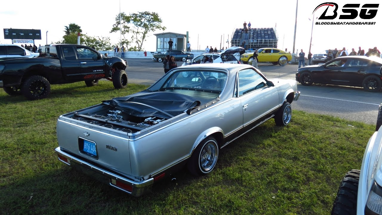 El Camino With Hydraulics : El camino with hydraulics on quot wire wheels lowrider
