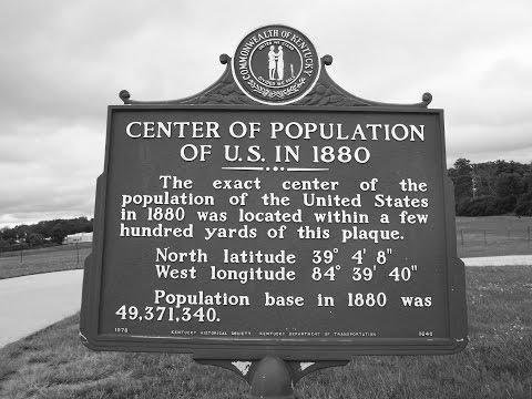 Center  Population  Marker,  Boone  County,  Kentucky