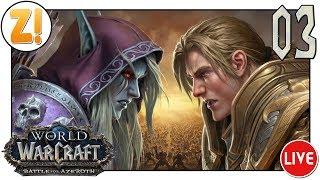 World of Warcraft - Battle for Azeroth: Auf in neue Welten ! #03   Let's Play [DEUTSCH]