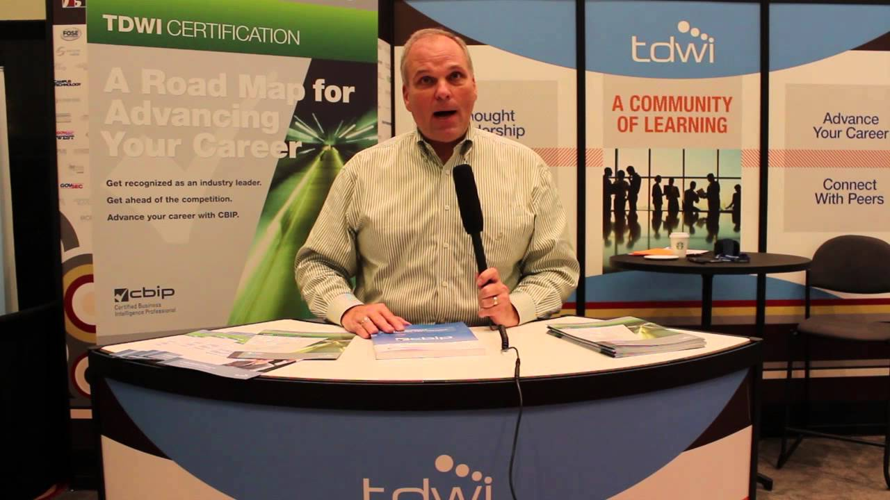 Tdwi Cbip Certification Youtube