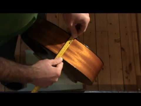 Gitarre Gurtpin/Gurtknopf anbringen, guitar strap button installation