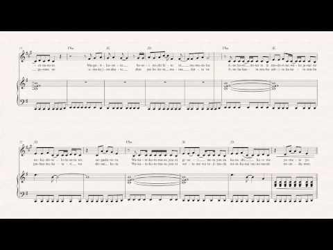 Clarinet  Again  YUI   Sheet Music, Chords, & Vocals