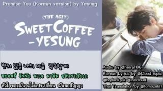 [ซับไทย-คาราโอเกะ] Yesung - PROMISE YOU (Korean Version)